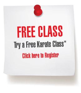 free kyokushin karate class